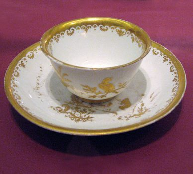 Cup and Saucer – Meissen Porcelain