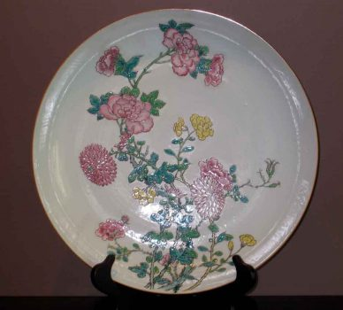 Charger – German Meissen Porcelain